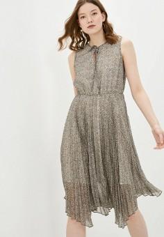 Платье, adL, цвет: бежевый. Артикул: AD005EWJBKL6.