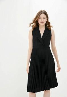 Платье, adL, цвет: черный. Артикул: AD005EWJBKL8.