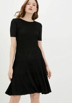 Платье, adL, цвет: черный. Артикул: AD005EWJBKM1.