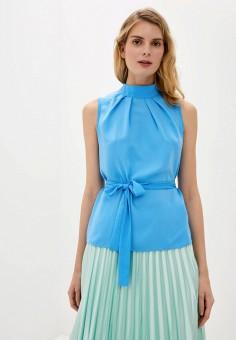 Блуза, adL, цвет: голубой. Артикул: AD005EWJFWO3.