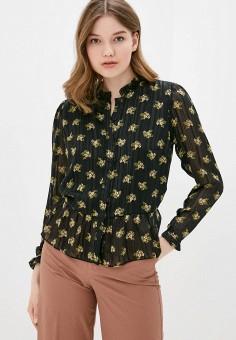 Блуза, adL, цвет: черный. Артикул: AD005EWJFWY6.