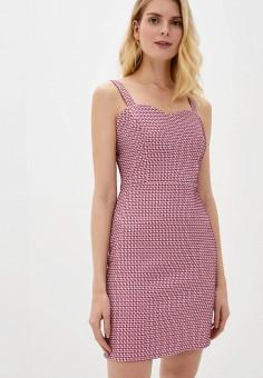 Платье, adL, цвет: розовый. Артикул: AD005EWJFXA3.