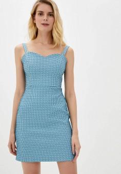 Платье, adL, цвет: голубой. Артикул: AD005EWJFXA4.
