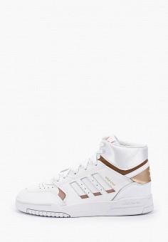 Кеды, adidas Originals, цвет: белый. Артикул: AD093AGHZVW9.