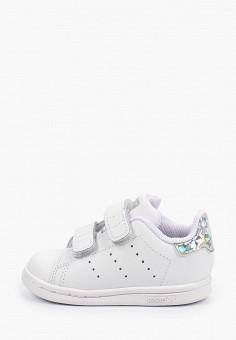 Кеды, adidas Originals, цвет: белый. Артикул: AD093AGHZVY2.
