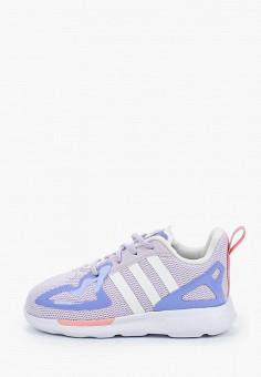 Кроссовки, adidas Originals, цвет: фиолетовый. Артикул: AD093AGJLWC1.