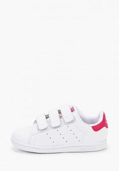 Кеды, adidas Originals, цвет: белый. Артикул: AD093AGJLWH0.
