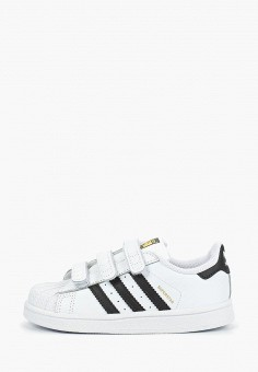 Кеды, adidas Originals, цвет: белый. Артикул: AD093AKEEFC4. Мальчикам / Обувь / Кроссовки и кеды
