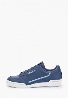 Кеды, adidas Originals, цвет: синий. Артикул: AD093AKGUEA2.