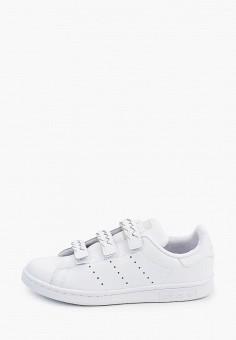 Кеды, adidas Originals, цвет: белый. Артикул: AD093AKHZWD5. Мальчикам / Обувь / Кроссовки и кеды