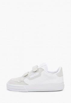Кеды, adidas Originals, цвет: белый. Артикул: AD093AKJLWJ5.
