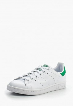 Кеды, adidas Originals, цвет: белый. Артикул: AD093AKLWN28. Девочкам / Спорт