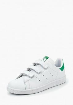 Кеды, adidas Originals, цвет: белый. Артикул: AD093AKMQF97.