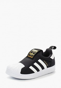 Кеды, adidas Originals, цвет: черный. Артикул: AD093AKUNJ57.