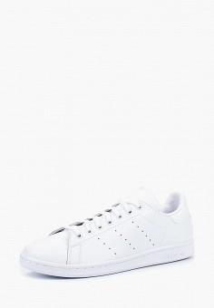 Кеды, adidas Originals, цвет: белый. Артикул: AD093AMCCZT6.
