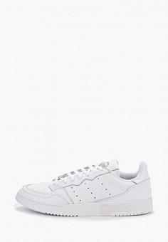 Кеды, adidas Originals, цвет: белый. Артикул: AD093AMFLFP3. Обувь / Кроссовки и кеды