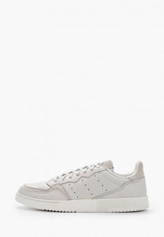 Кеды, adidas Originals, цвет: серый. Артикул: AD093AMHLCB7.