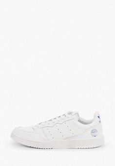 Кеды, adidas Originals, цвет: белый. Артикул: AD093AMHLCC0.