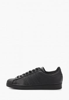 Кеды, adidas Originals, цвет: черный. Артикул: AD093AMHLCC1.