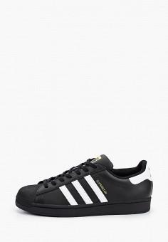 Кеды, adidas Originals, цвет: черный. Артикул: AD093AMHLCC2.