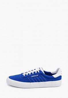Кеды, adidas Originals, цвет: синий. Артикул: AD093AMHLCC4.
