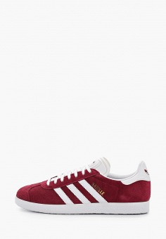 Кеды, adidas Originals, цвет: бордовый. Артикул: AD093AUHLCG4.