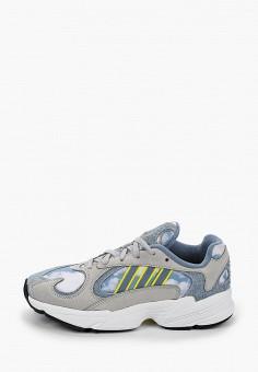 Кроссовки, adidas Originals, цвет: голубой. Артикул: AD093AUJBMD4.
