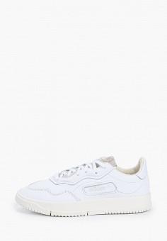 Кеды, adidas Originals, цвет: белый. Артикул: AD093AUJBMD5.