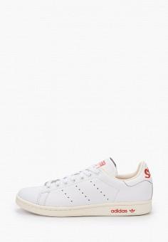 Кеды, adidas Originals, цвет: белый. Артикул: AD093AUJBMD9.