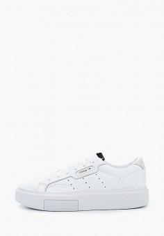 Кеды, adidas Originals, цвет: белый. Артикул: AD093AWHLCJ0.