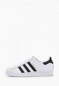 Кеды, adidas Originals, цвет: белый. Артикул: AD093AWHLCJ3.