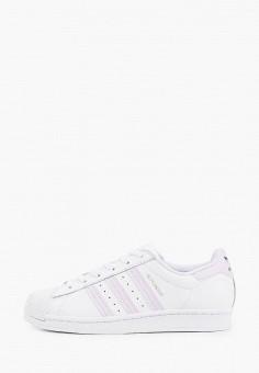 Кеды, adidas Originals, цвет: белый. Артикул: AD093AWHLDO1.