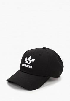 Бейсболка, adidas Originals, цвет: черный. Артикул: AD093CUFJWE6. Аксессуары / Головные уборы