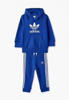Костюм спортивный, adidas Originals, цвет: синий. Артикул: AD093EBJLVX8.