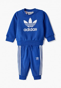 Костюм спортивный, adidas Originals, цвет: синий. Артикул: AD093EBJLWB4.