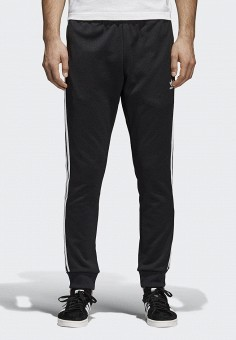 Брюки спортивные, adidas Originals, цвет: черный. Артикул: AD093EMALOJ7. Одежда / Брюки / Спортивные брюки