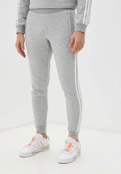 Брюки спортивные, adidas Originals, цвет: серый. Артикул: AD093EMHLDT2.
