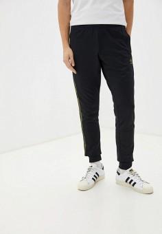 Брюки спортивные, adidas Originals, цвет: черный. Артикул: AD093EMHLEM6.