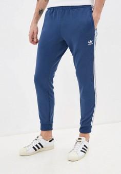 Брюки спортивные, adidas Originals, цвет: синий. Артикул: AD093EMHLEN3. Одежда / Брюки / Спортивные брюки