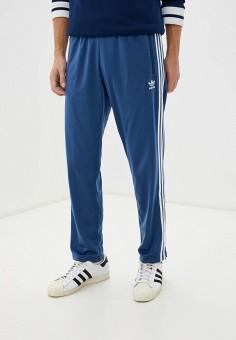 Брюки спортивные, adidas Originals, цвет: синий. Артикул: AD093EMHLEN5. Одежда / Брюки / Спортивные брюки