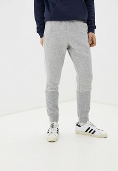 Брюки спортивные, adidas Originals, цвет: серый. Артикул: AD093EMHLEN9.