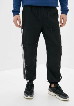 Брюки спортивные, adidas Originals, цвет: черный. Артикул: AD093EMHLEO0. Одежда / Брюки / Спортивные брюки