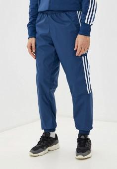 Брюки спортивные, adidas Originals, цвет: синий. Артикул: AD093EMHLEO1. Одежда / Брюки / Спортивные брюки