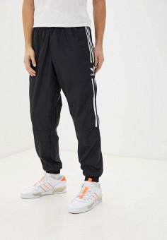 Брюки спортивные, adidas Originals, цвет: черный. Артикул: AD093EMHLEO2. Одежда / Брюки