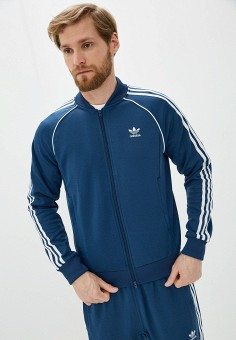 Олимпийка, adidas Originals, цвет: синий. Артикул: AD093EMHLER0.