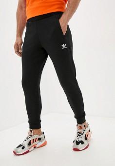 Брюки спортивные, adidas Originals, цвет: черный. Артикул: AD093EMJLYQ3. Одежда / Брюки
