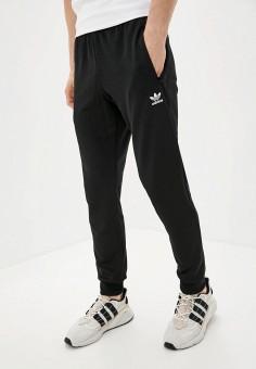 Брюки спортивные, adidas Originals, цвет: черный. Артикул: AD093EMJLYQ5. Одежда / Брюки / Спортивные брюки