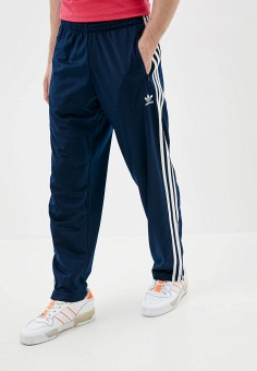 Брюки спортивные, adidas Originals, цвет: синий. Артикул: AD093EMJLYS8. Одежда / Брюки