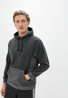 Худи, adidas Originals, цвет: серый. Артикул: AD093EMJLZL8. Одежда / Толстовки и олимпийки / Худи