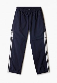 Брюки спортивные, adidas Originals, цвет: синий. Артикул: AD093EUJFUK0.